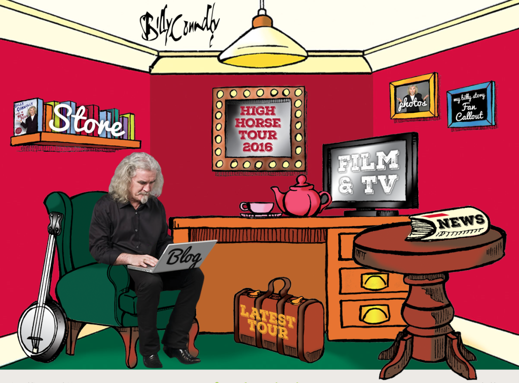 Billy conolly website