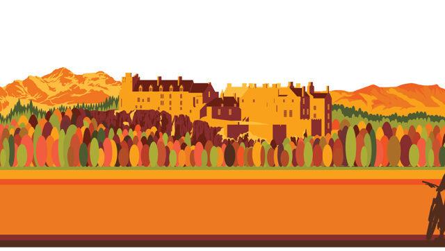 Stirling Castle Mash up